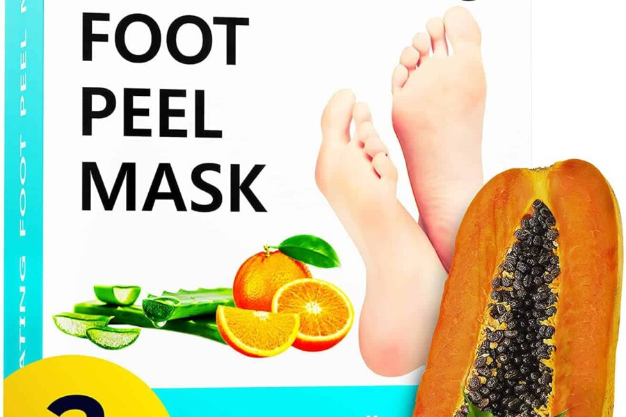 How do foot peels work