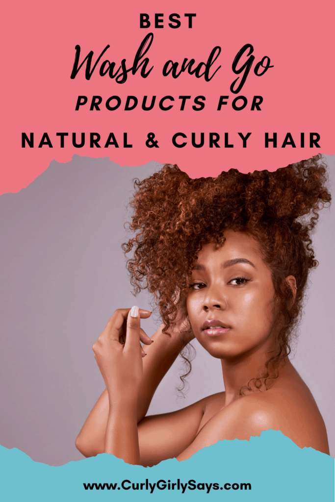 A black girl with curly natural Hair